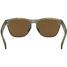 Oakley Frogskins Lite Sunglasses splatter crystal black/24k iridium